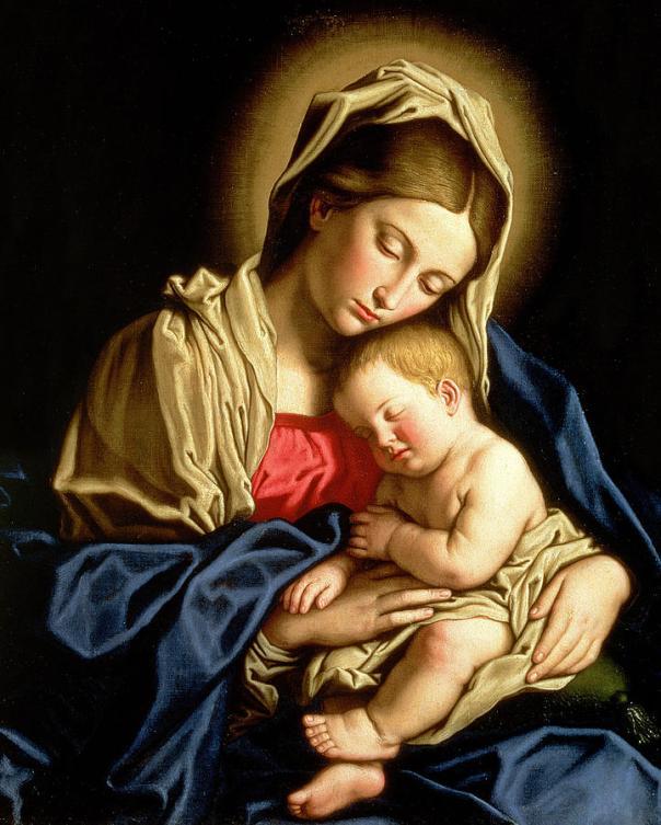 Madonna and Child by Il Sassoferrato